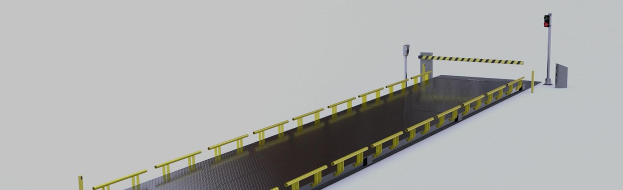 Terminal du pont-bascule et gestion des données