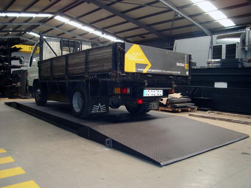 Truck Scale PCML báscula bascula