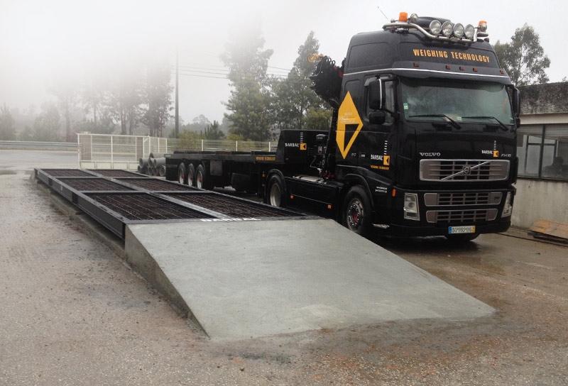 Truck Scale WTS/C báscula bascula